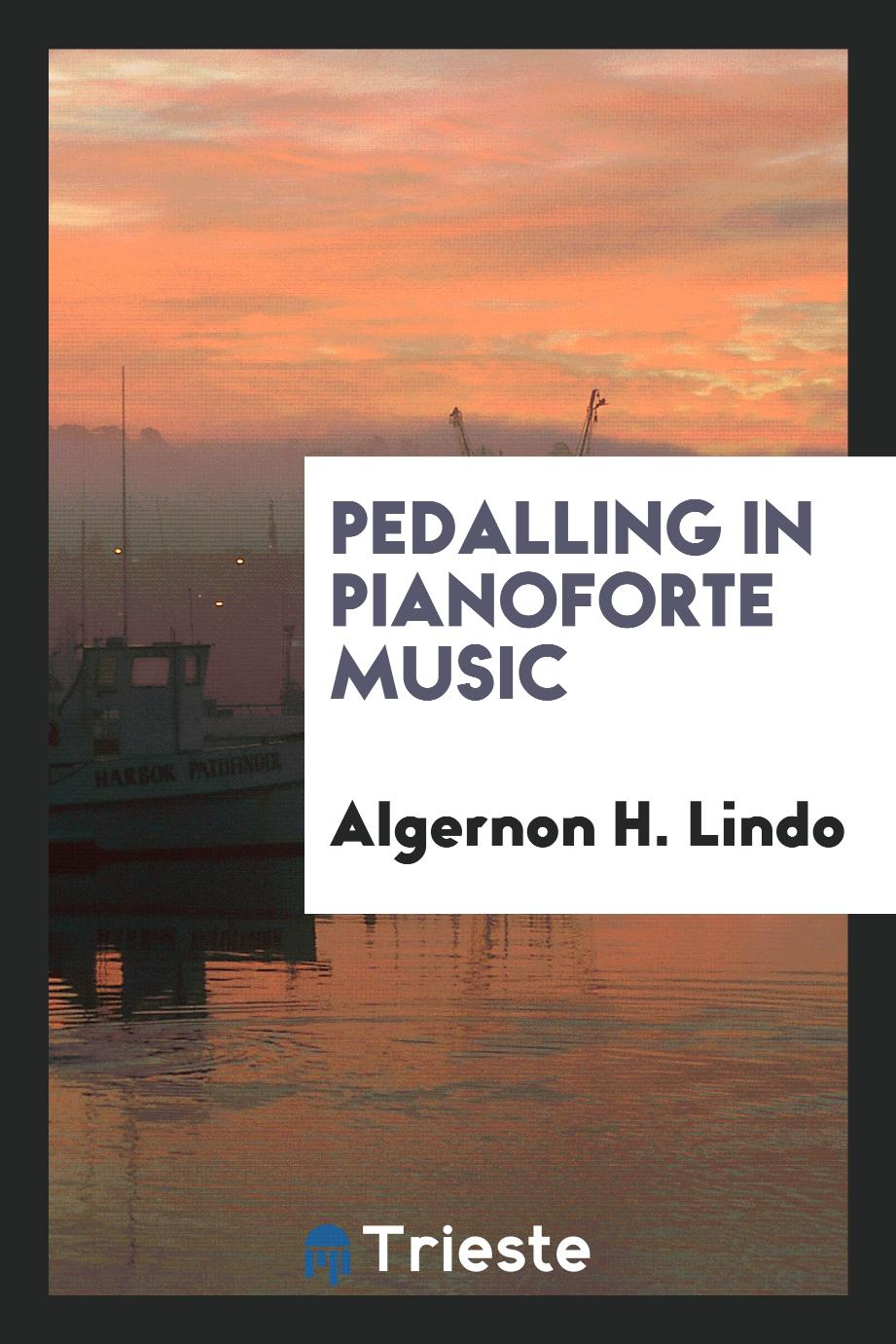 Pedalling in pianoforte music