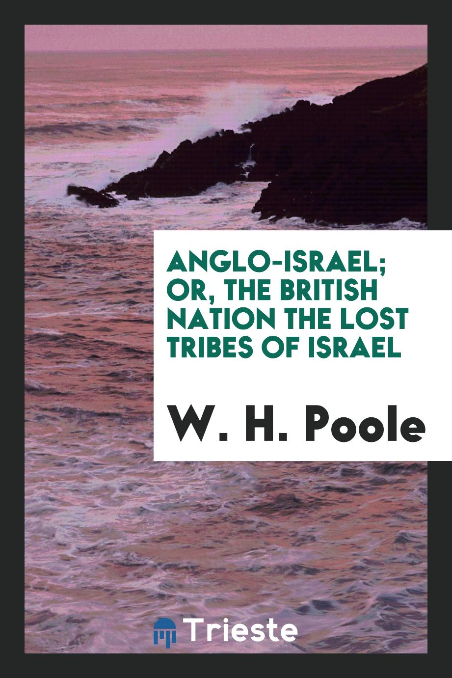 Anglo-Israel; Or, The British Nation the Lost Tribes of Israel