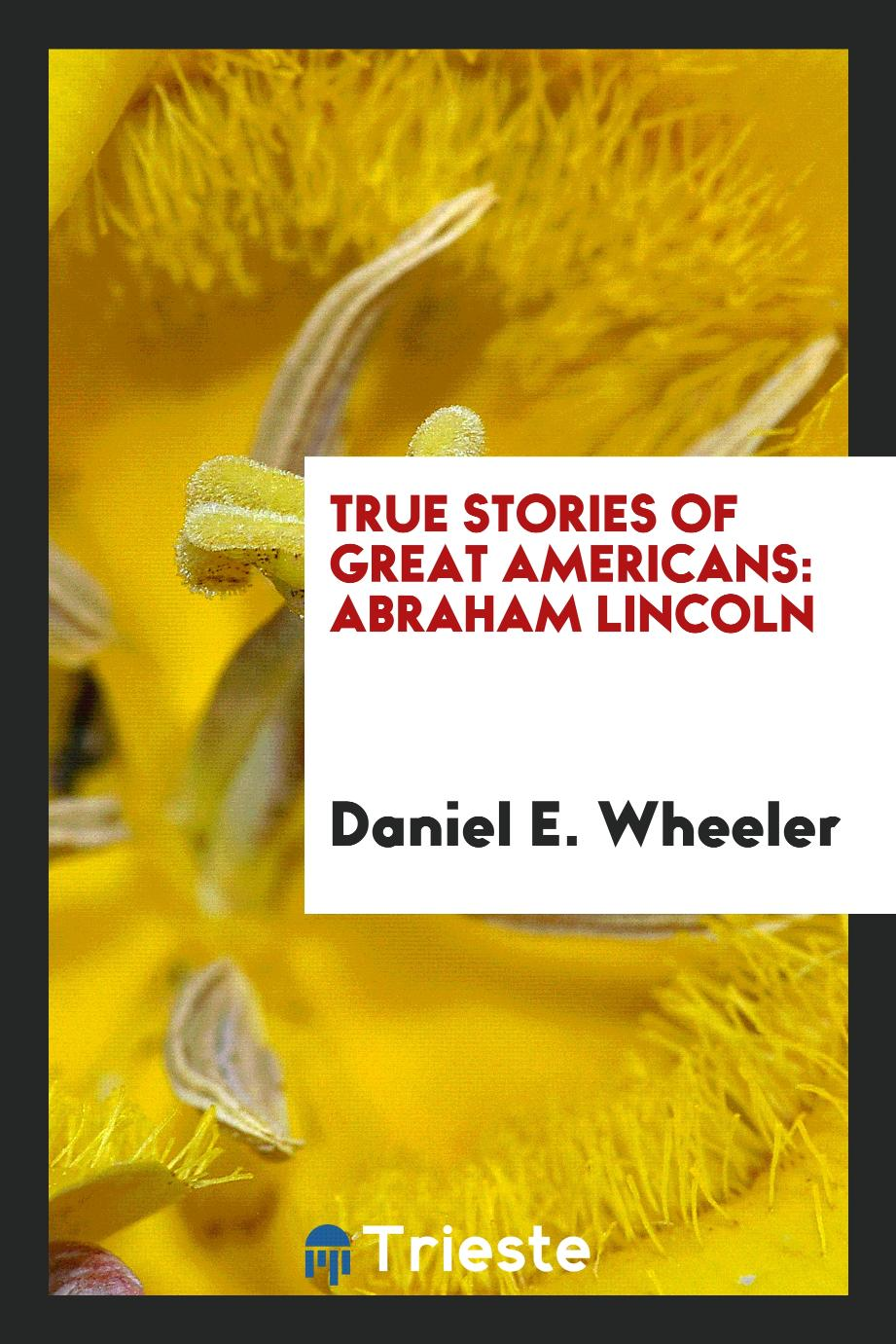 True Stories of Great Americans: Abraham Lincoln
