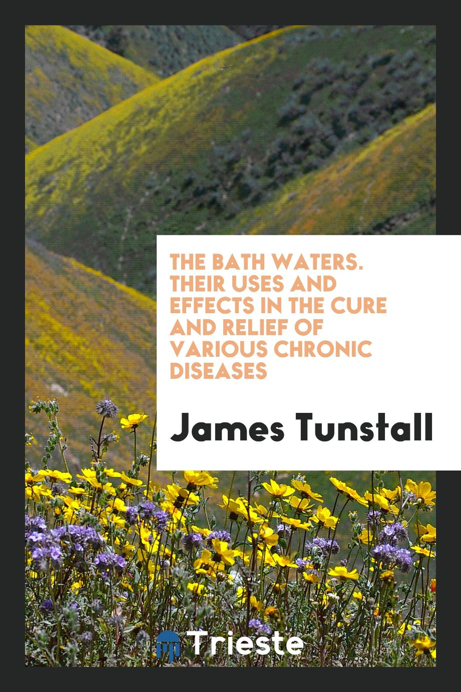 The Bath Waters. Their Uses and Effects in the Cure and Relief of Various Chronic Diseases