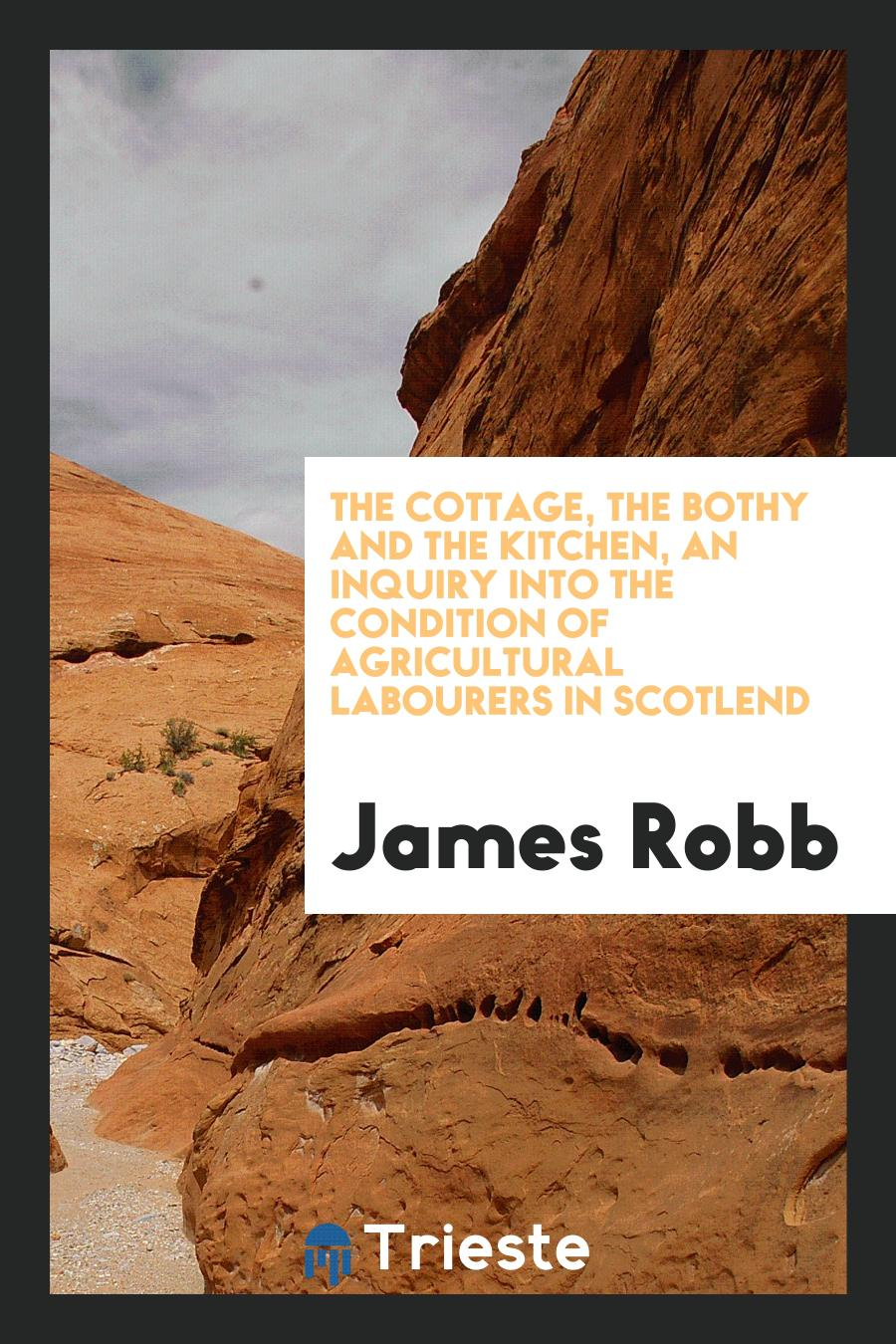 The Cottage, the Bothy and the Kitchen, an Inquiry Into the Condition of Agricultural Labourers in Scotlend
