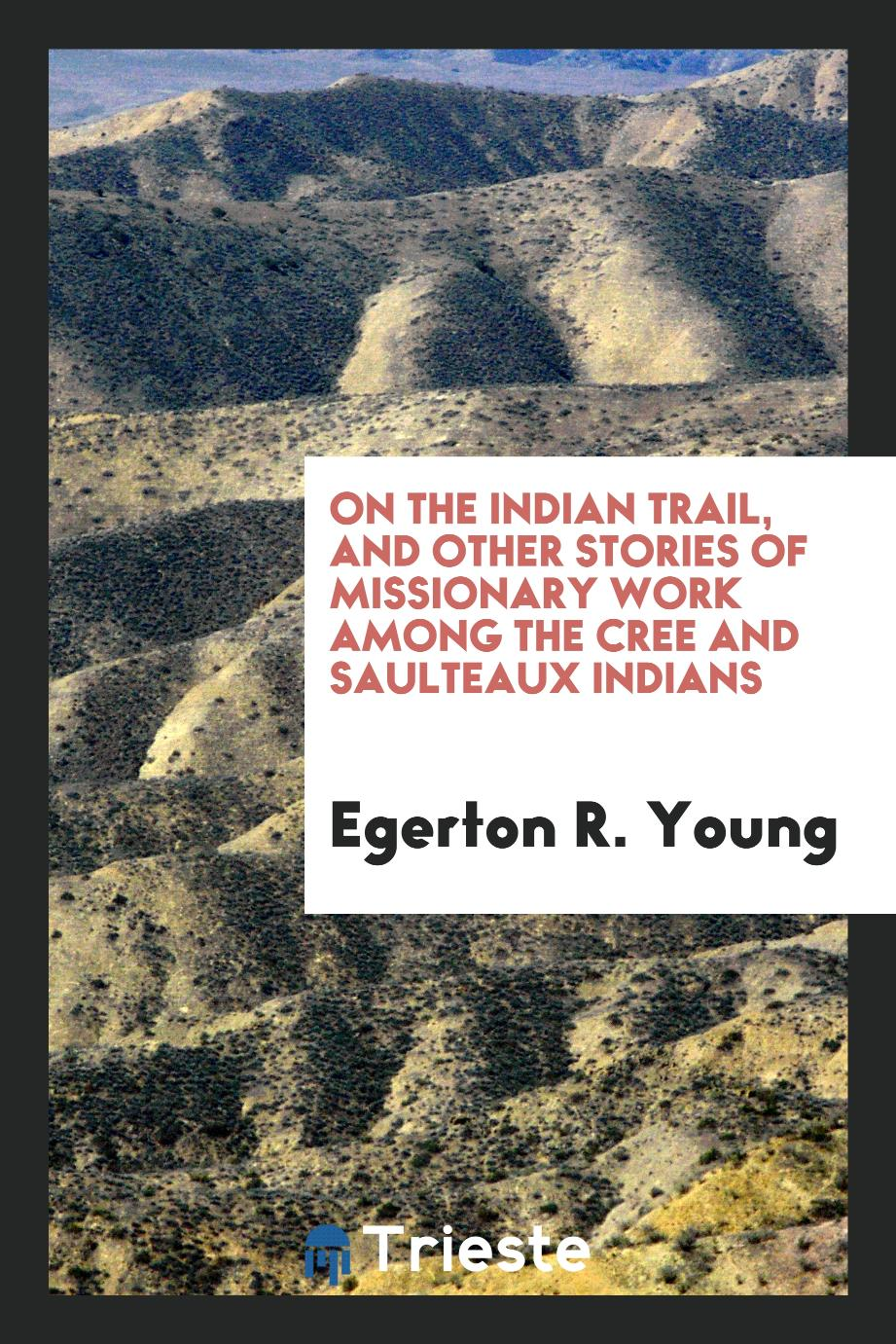 On the Indian trail, and other stories of missionary work among the Cree and Saulteaux Indians