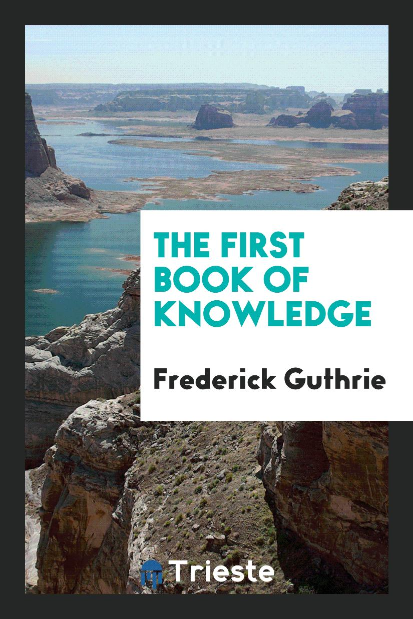The First Book of Knowledge
