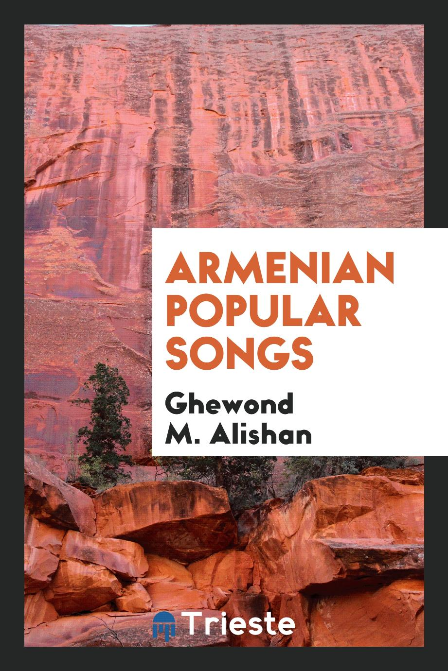 Armenian Popular Songs