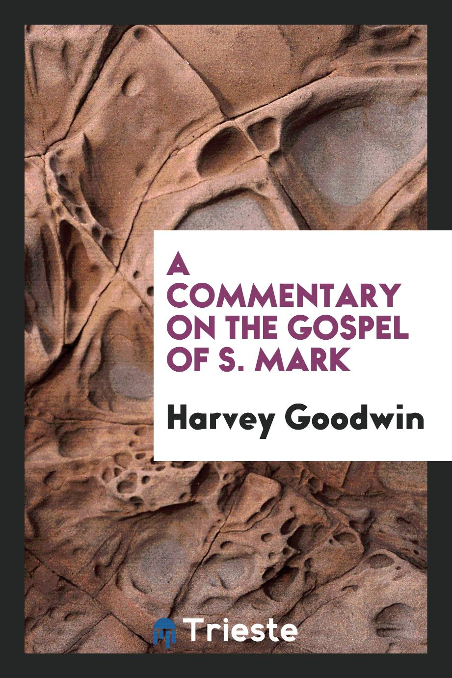A Commentary on the Gospel of S. Mark