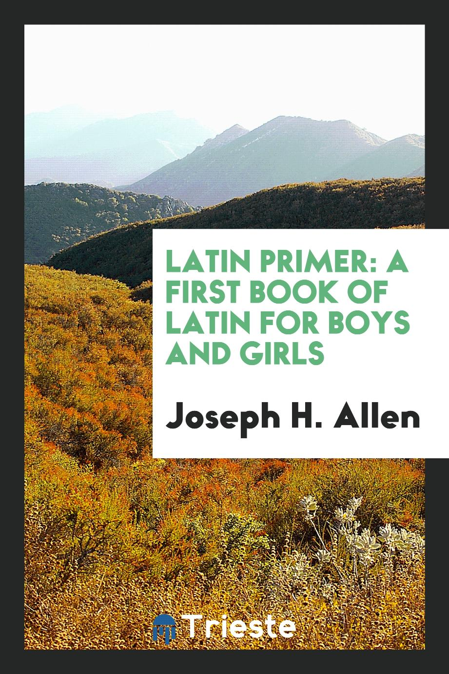 Latin Primer: A First Book of Latin for Boys and Girls
