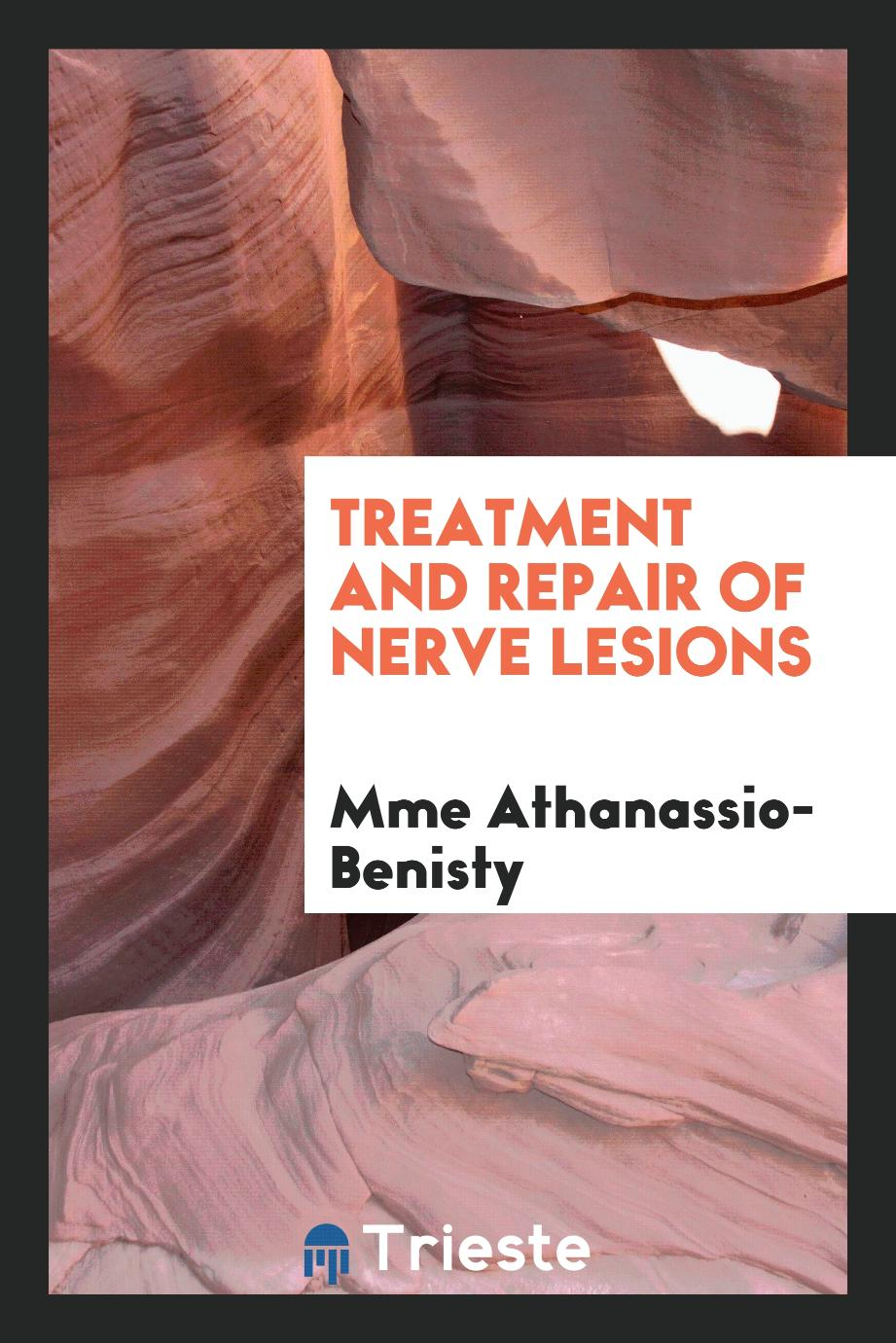 Treatment and repair of nerve lesions