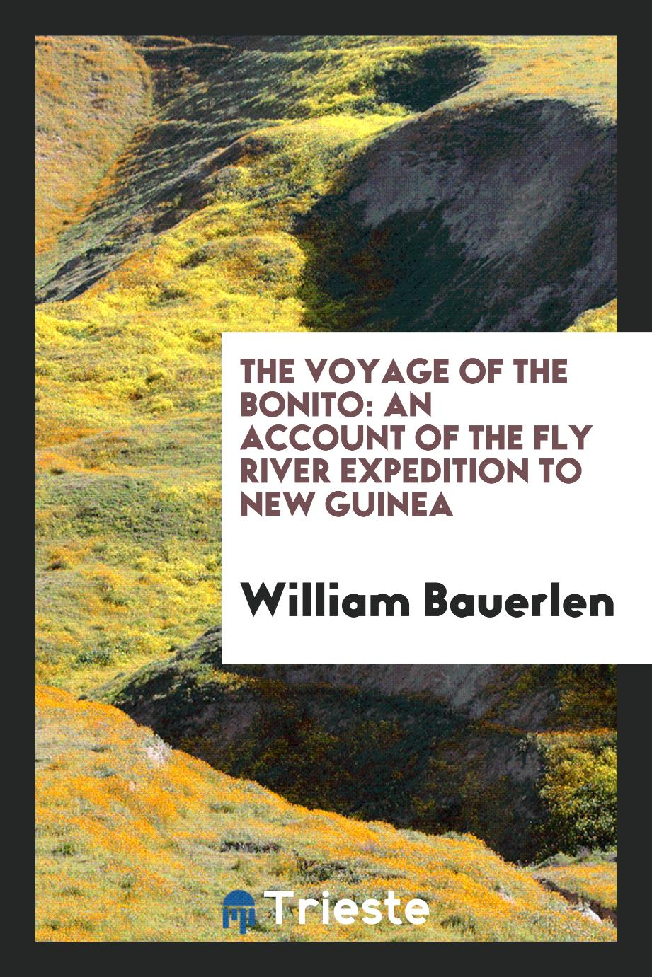 The voyage of the Bonito: an account of the Fly River Expedition to New Guinea