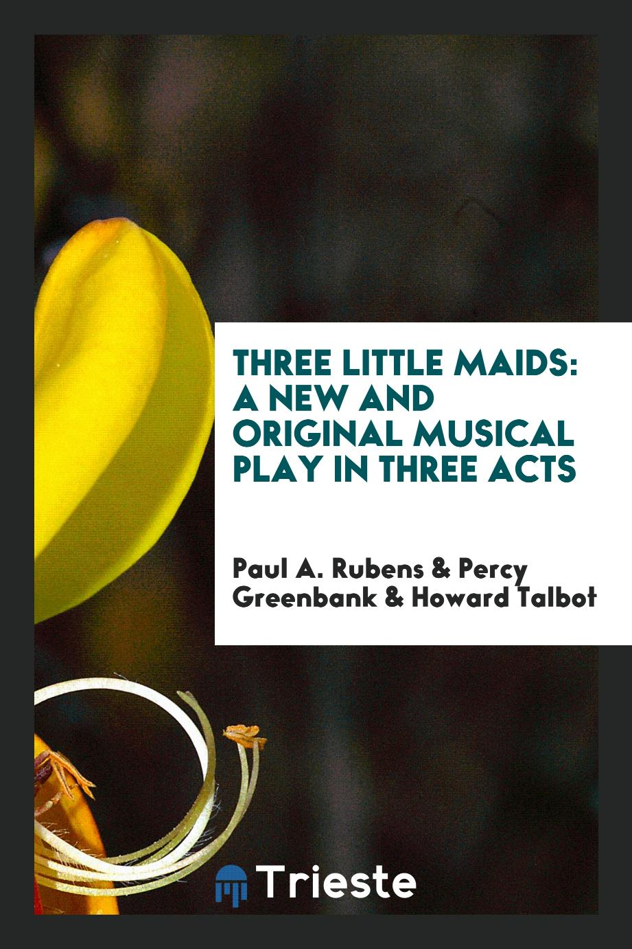 Three Little Maids: A New and Original Musical Play in Three Acts