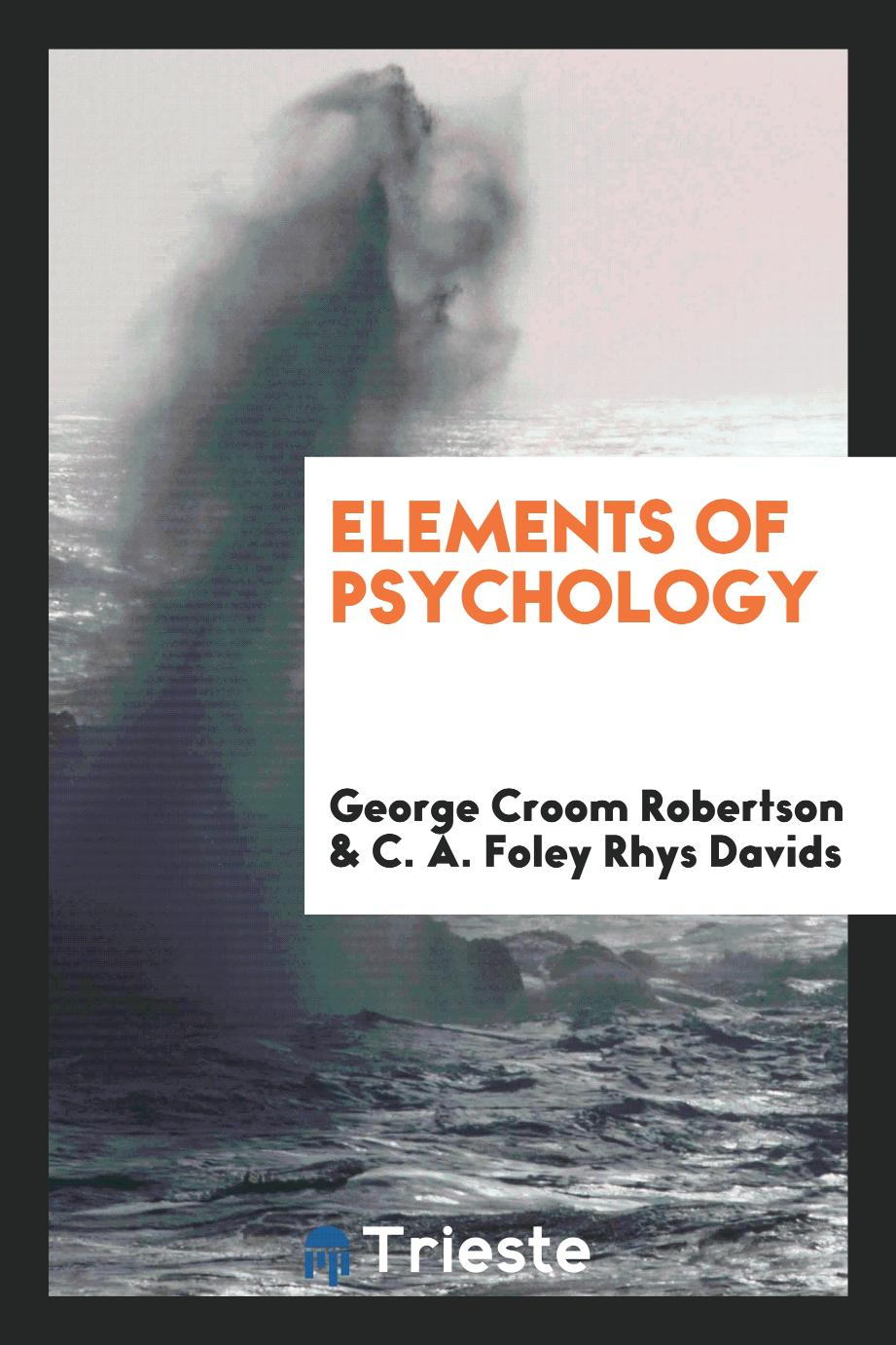 Elements of psychology