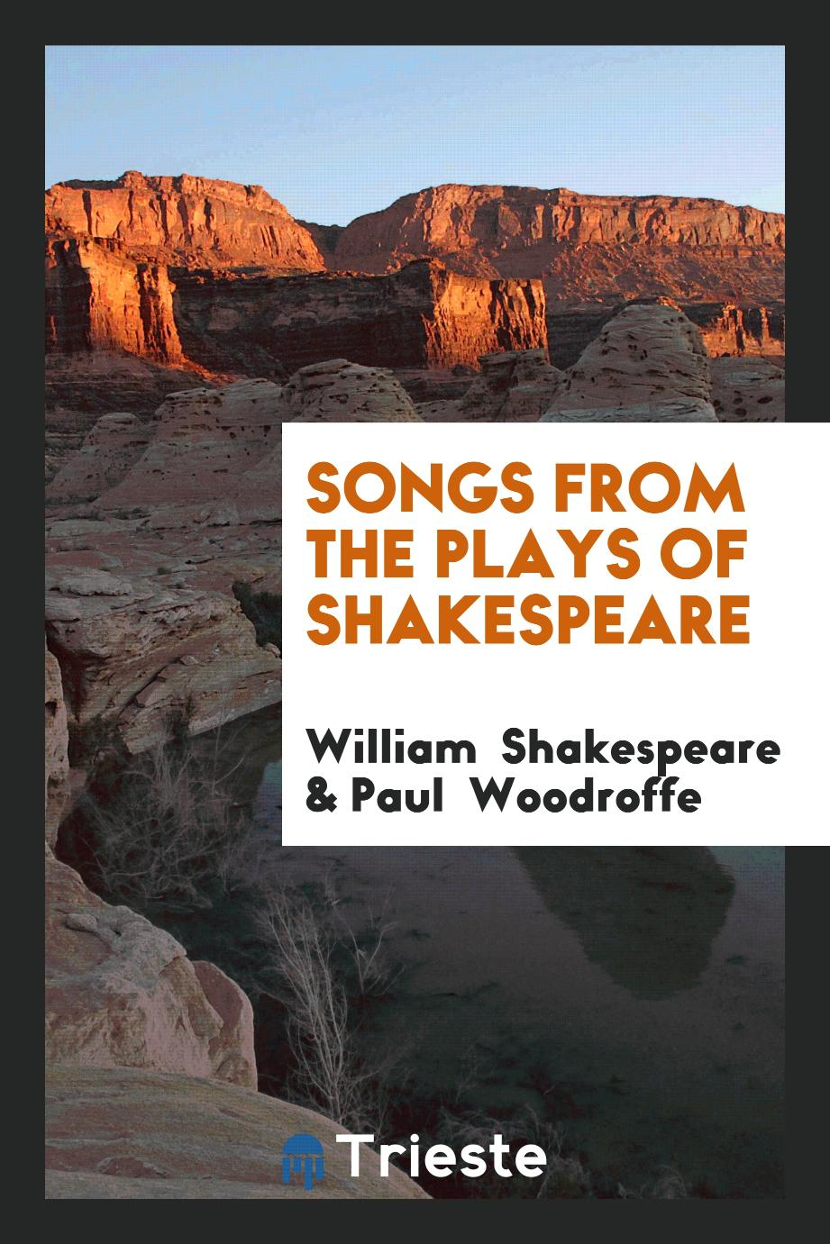 Songs from the Plays of Shakespeare