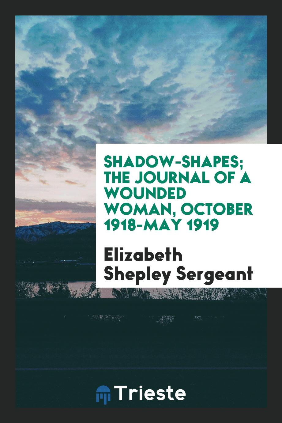 Shadow-shapes; the journal of a wounded woman, October 1918-May 1919