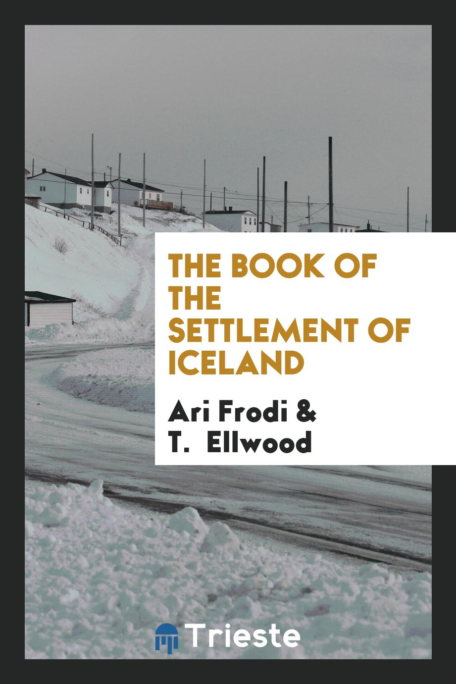 The Book of the Settlement of Iceland