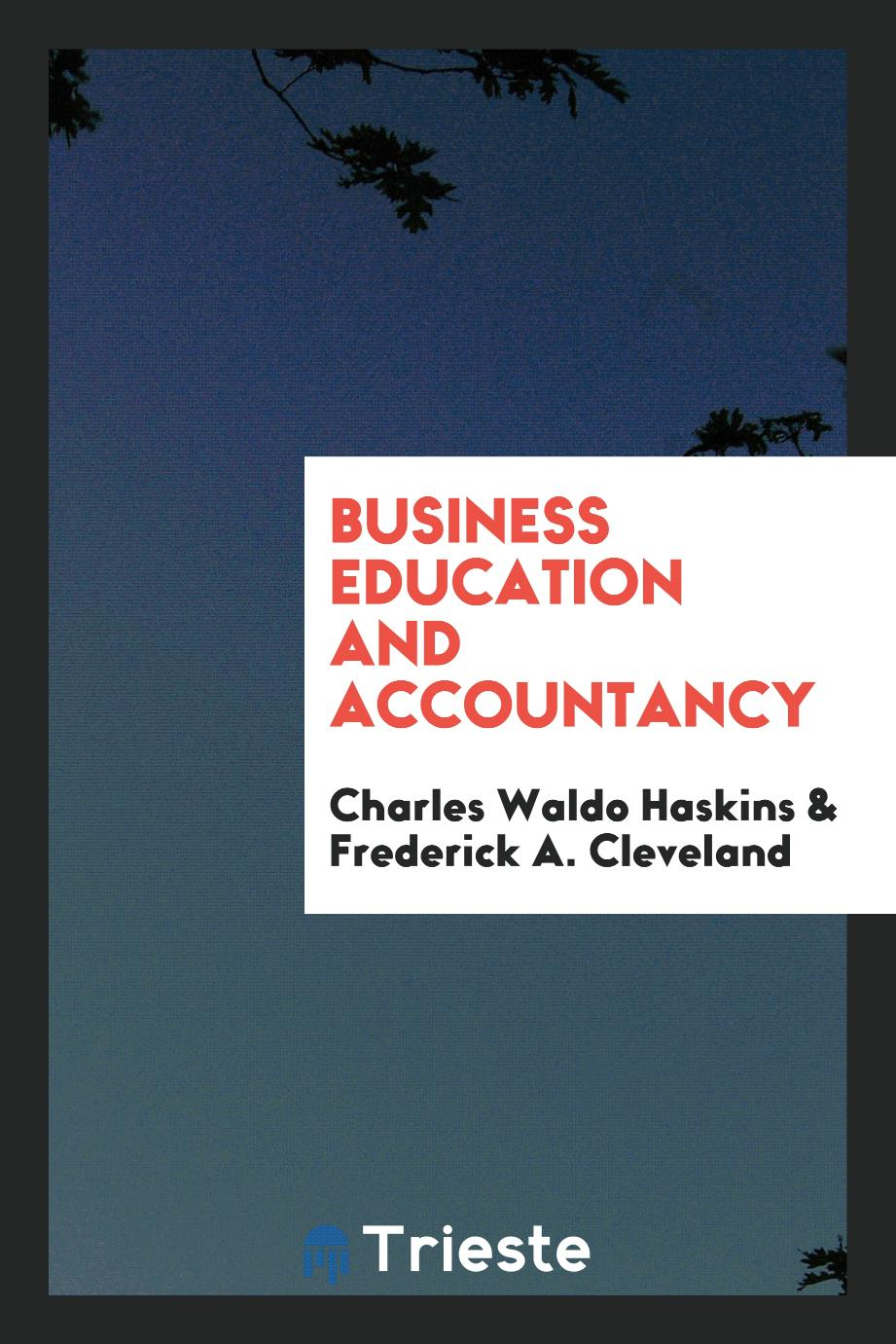 Business education and accountancy