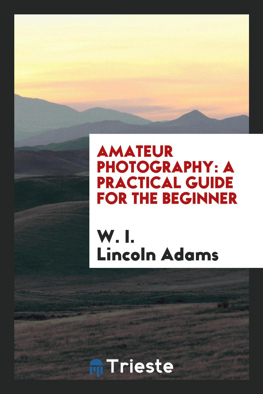Amateur Photography: A PracticaL Guide for the Beginner