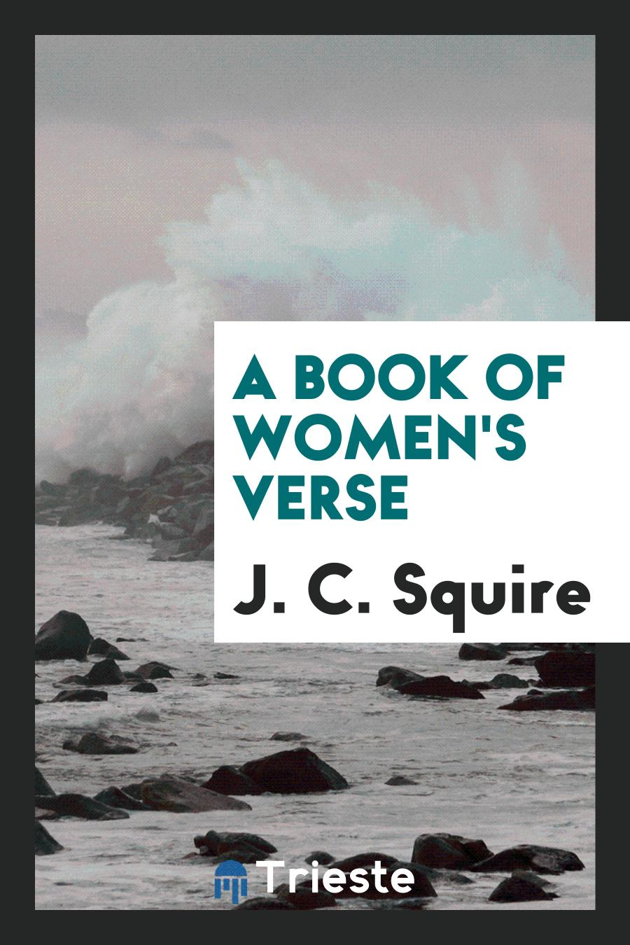 A Book of Women's Verse