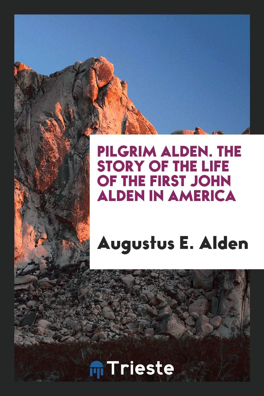 Pilgrim Alden. The Story of the Life of the First John Alden in America