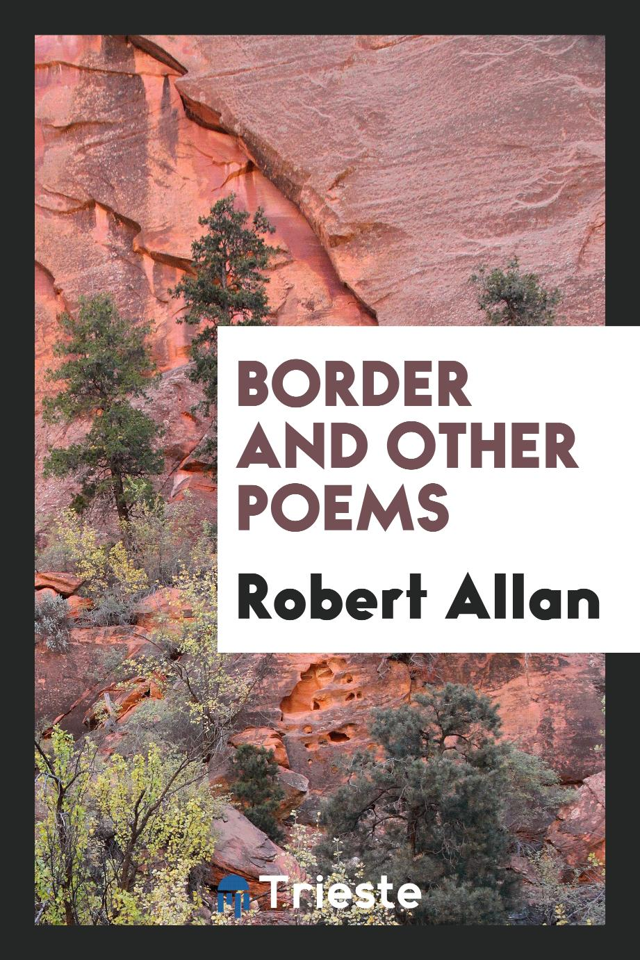 Border and Other Poems