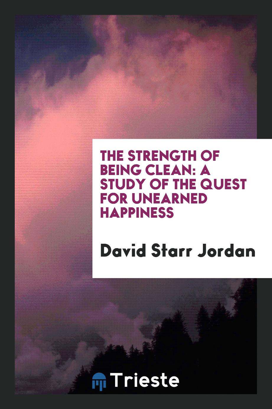 The Strength of Being Clean: A Study of the Quest for Unearned Happiness