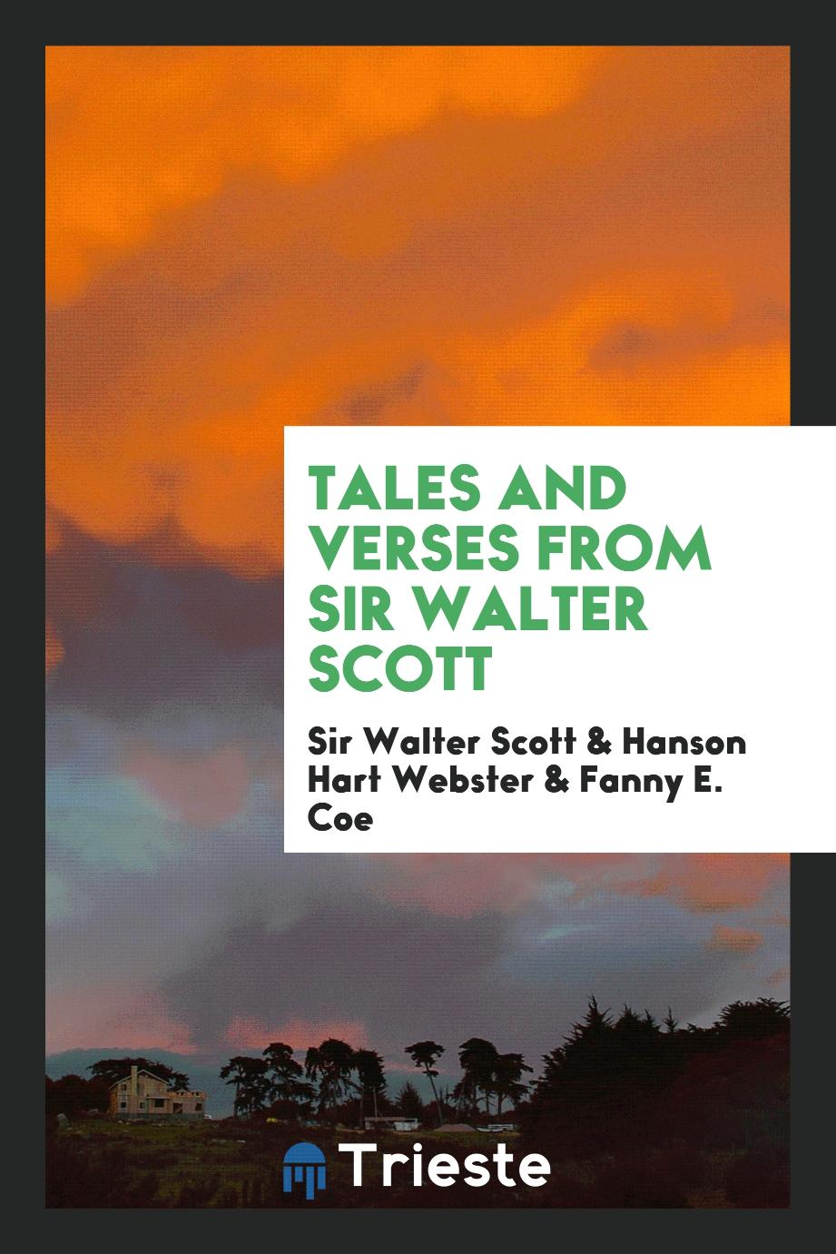 Tales and Verses from Sir Walter Scott