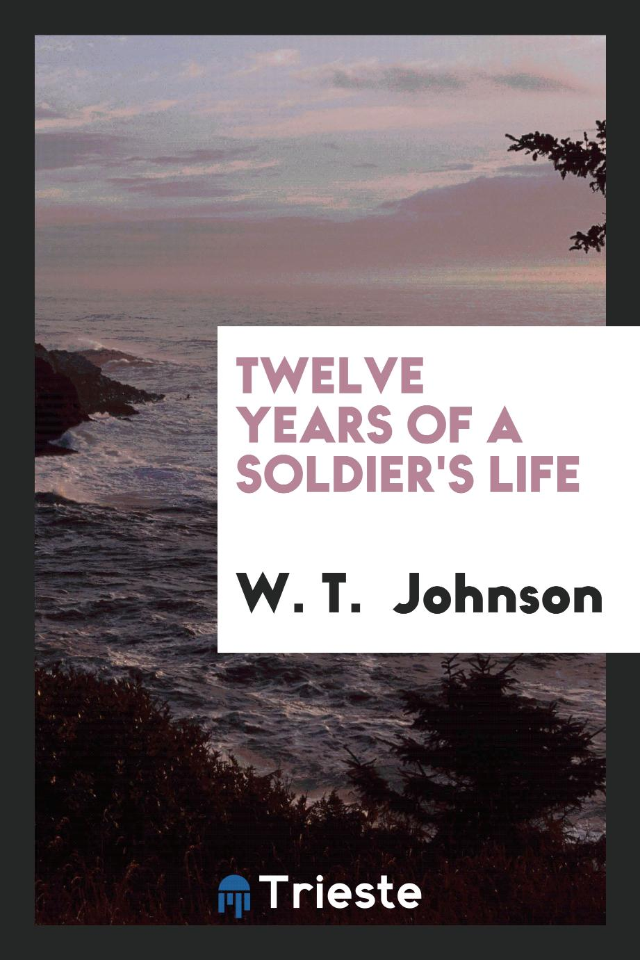 Twelve years of a soldier's life