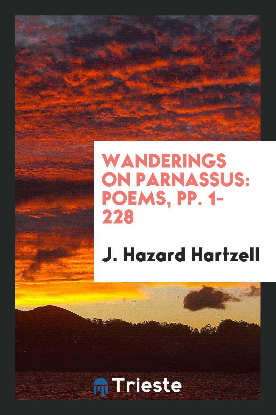 Wanderings on Parnassus: Poems, pp. 1-228