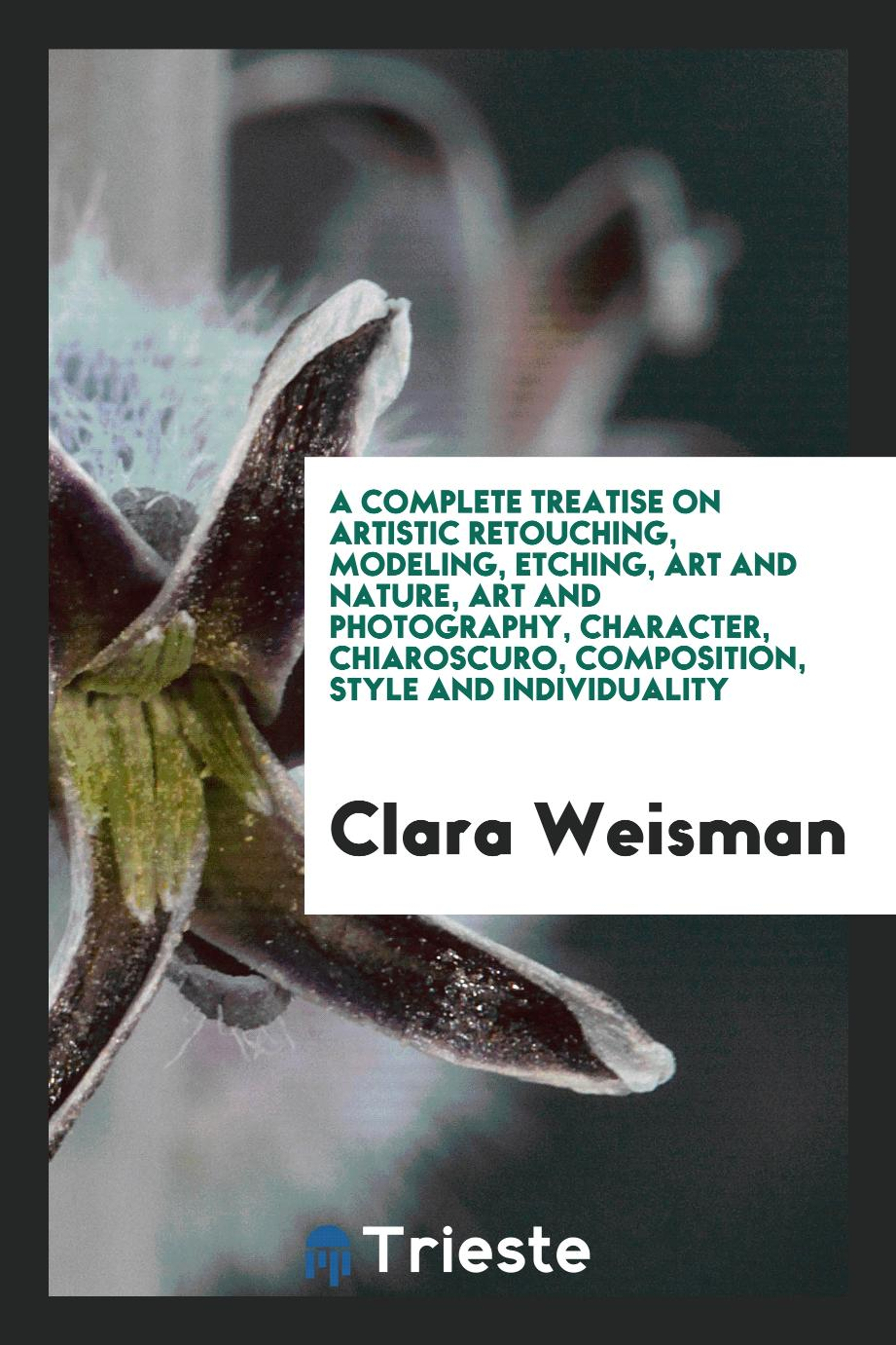 A complete treatise on artistic retouching, modeling, etching, art and nature, art and photography, character, chiaroscuro, composition, style and individuality